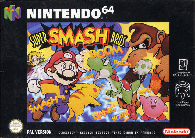 Super Smash Bros Europe N64 ROM Featured Video Game ROMs And ISOs Download
