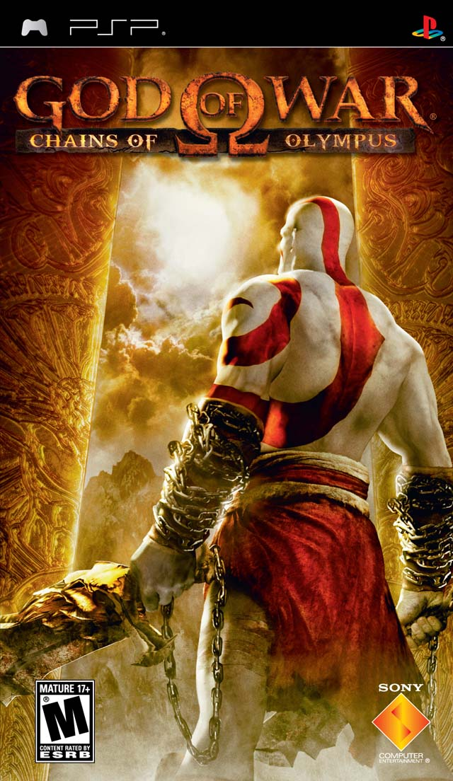 God of War: Chains of Olympus (USA) PSP ISO - NiceROM com - Featured