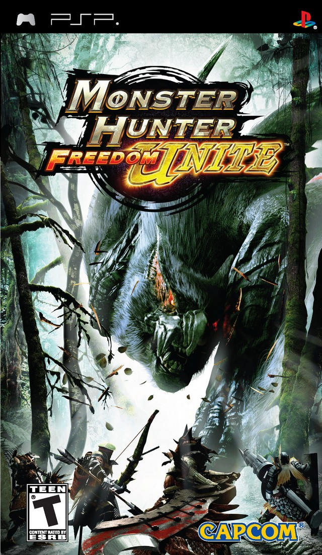 monster hunter freedom unite psp iso fr