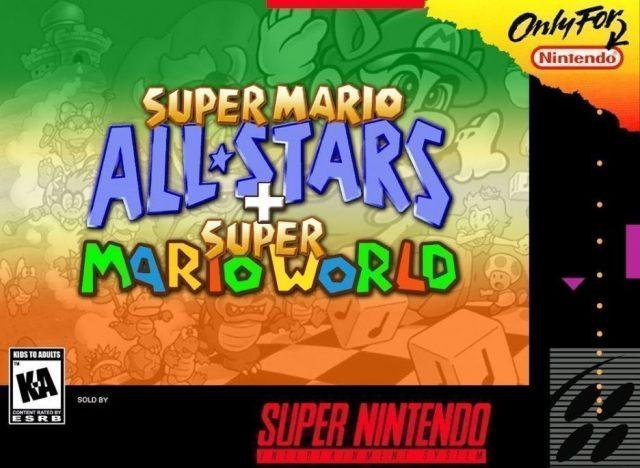 Super Mario All-Stars / Super Mario World (USA) SNES ROM