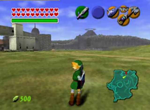 The Legend of Zelda: Ocarina of Time (Europe) N64 ROM