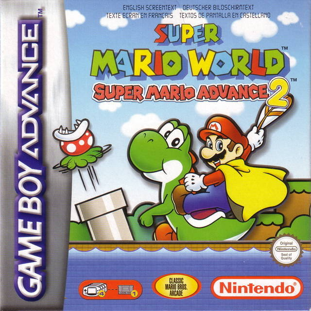 Super Mario World Super Mario Advance 2 Europe Gba Rom Nicerom Com Featured Video Game Roms And Isos Game Database For Gba N64 Wii Sega Psx Psp Nes