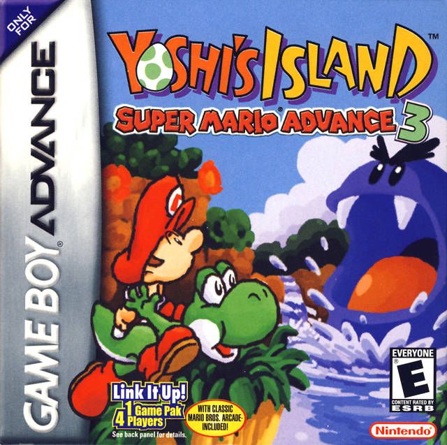 Super Mario Advance 3 - Yoshi's Island (USA) GBA ROM