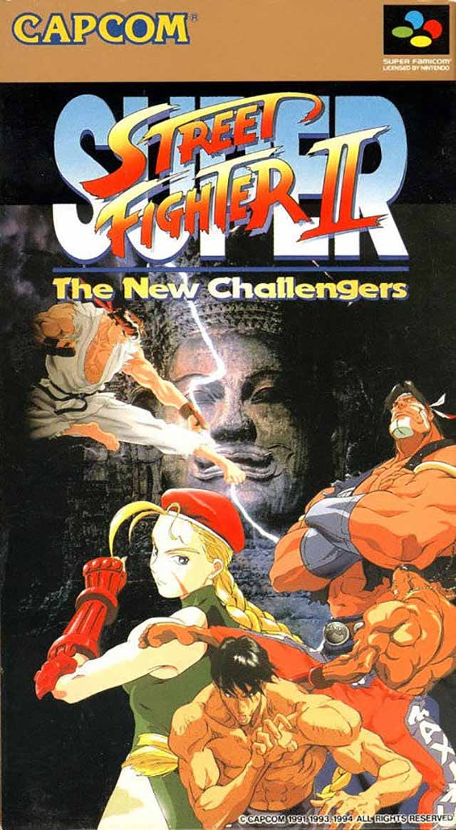 Super Street Fighter Ii The New Challengers Japan Snes Rom