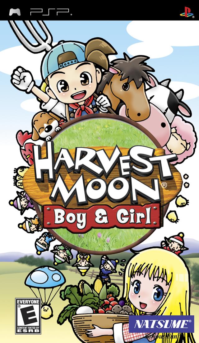 Harvest Moon: Boy & Girl (USA) PSP ISO - NiceROM com