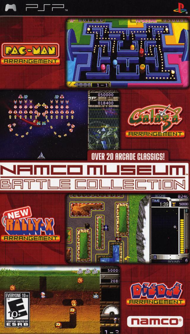 Namco Museum Battle Collection (USA) PSP ISO - NiceROM com