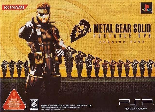 Metal Gear Solid: Portable Ops (Premium Pack) (Japan) PSP ISO