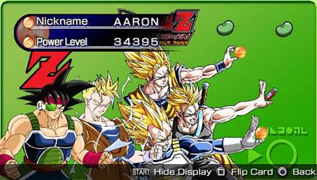 Dragon Ball Z: Shin Budokai - Another Road (Europe) PSP