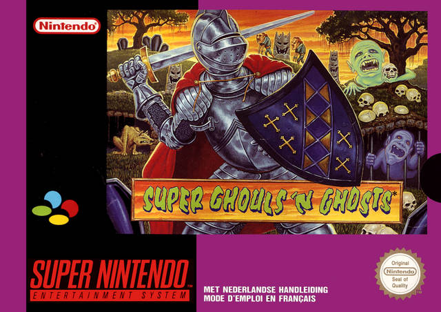 Super ghouls 'n ghosts for game boy advance (2002) mobyrank.