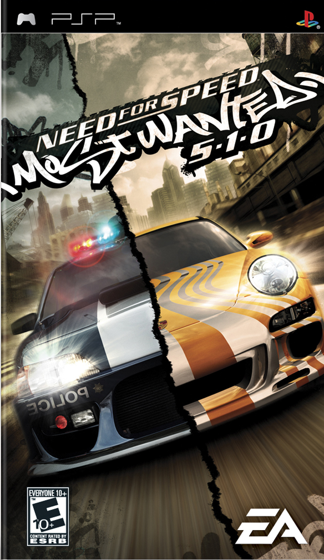 Need for Speed Most Wanted 5-1-0 (USA) PSP ISO - NiceROM com