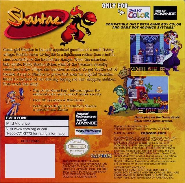 Shantae Free Game