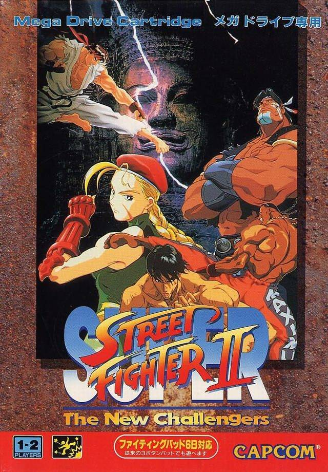 Super Street Fighter Ii The New Challengers Japan Genesis Rom