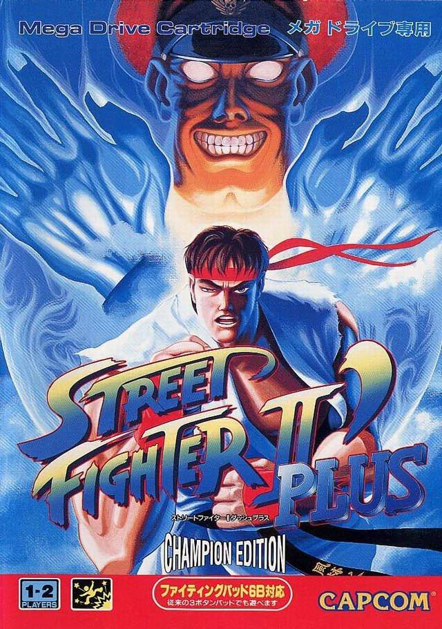 Street Fighter Ii Plus Champion Edition Japan Genesis Rom