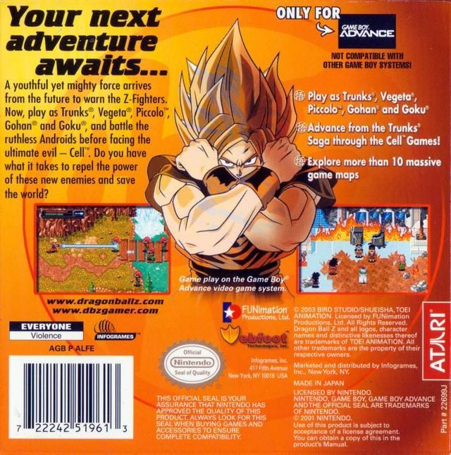 Dragon Ball Z: The Legacy Of Goku II (USA) GBA ROM