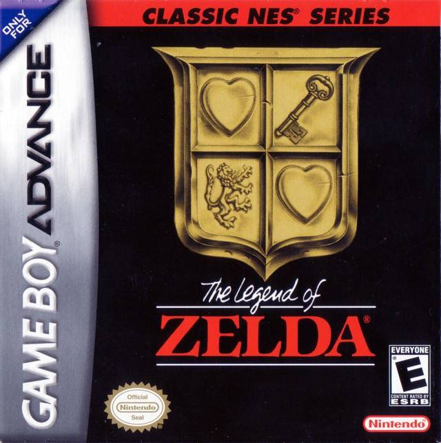 Classic Nes Series The Legend Of Zelda Usa Europe Gba Rom