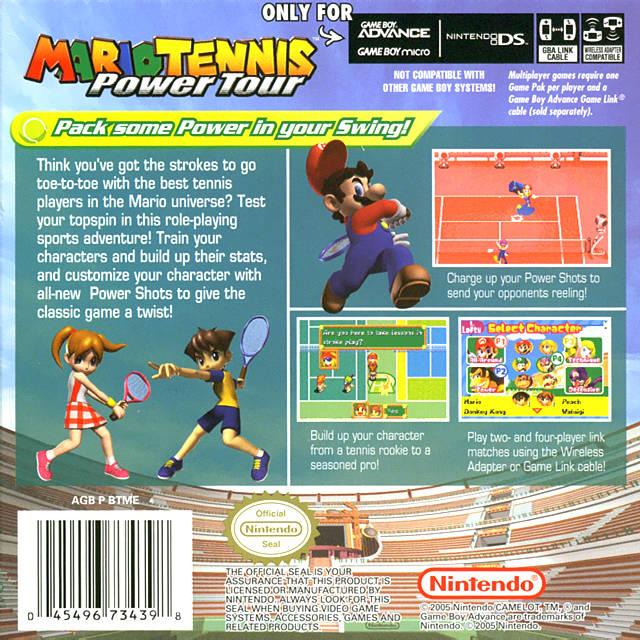 Mario Tennis: Power Tour (USA, Australia) GBA ROM - NiceROM