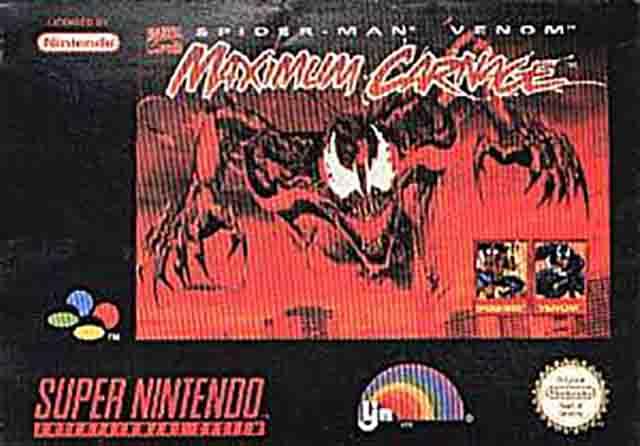 Spider Man Venom Maximum Carnage Europe Snes Rom Nicerom Com