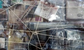 artemis potamianou LOOK,LISTEN,LEARN…IT'S HISTORY… ,2016 installation