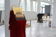 Maria Paschalidou BIOGRAPHY OF THE BREAD Installation | video performance, photography ,2014