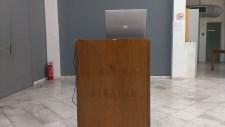 alexandros psychoulis SWALLOW NESTS' MAKER, 2005-2006 installation, mixed media, dimensions variable