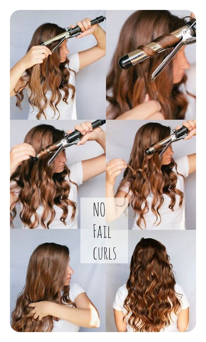 Using a Curling Iron