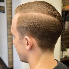 Side Part - Taper Haircut Trends