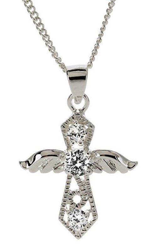 My Heavenly Angel Cross Necklace