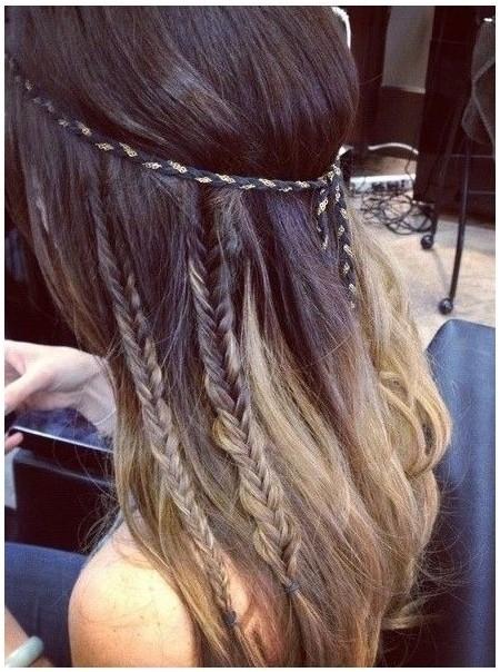 Cute Braid Hairstyle for Long Hair: Girls Hairstyles