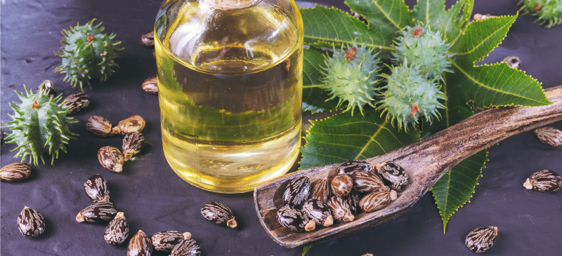 Castor Oil for Hair Straightening