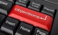Objections? Click this button!