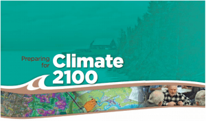 """Preparing for Climate 2100."" From the conference program."