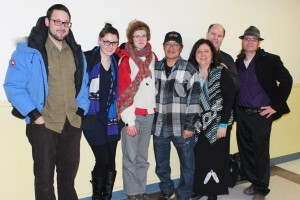 Organizers at the Qapirangajuq screening, UNB and St. Thomas University