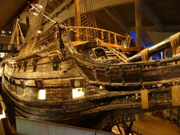 """The Vasa Museum. During a """"year without Summer"""" in 1628, a gust of wind sank the poorly proportioned Vasa at it left Stockholm's harbour. Can we link the disaster to the Little Ice Age? Photo: D Degroot"""