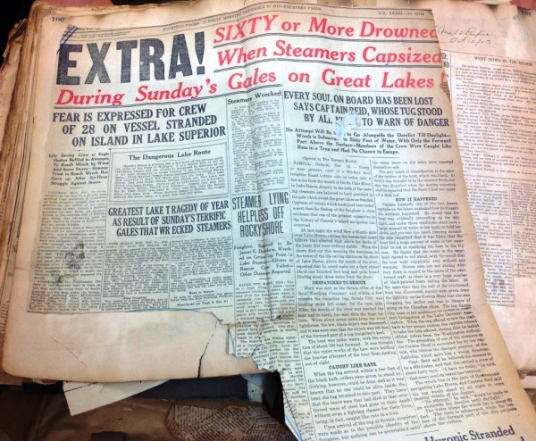 """Sixty or More Drowned..."" Globe 11 November, 1913"