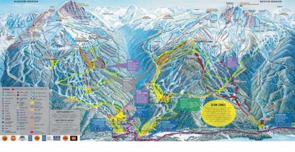 A current Whistler-Blackcomb trailmap.