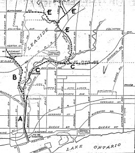 Figure 2, 1932 Plan of the Don Valley