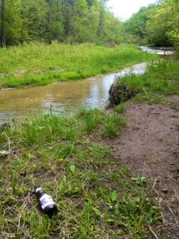 Evidence of Canadians at Toronto's Rouge Park, summer 2014. Source: Ben Bradley