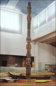 Haisla Gpsgolox Pole, Folkens Museum Etnografiska, Stockholm