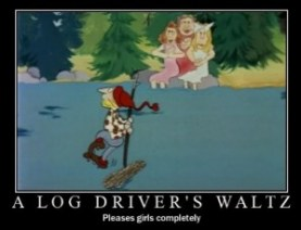 National Film Board, Log Driver's Waltz, 1979