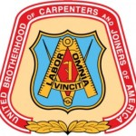 The logo of the United Brotherhood of Carpenters and Joiners of America.