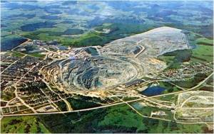 The Jeffrey Mine, Asbestos, Quebec.