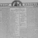 Acadian Recorder, 8 June 1816