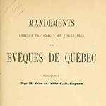 A MESSIEURS LES CURÉS DU DISTRICT DE QUÉBEC, 22 October 1816