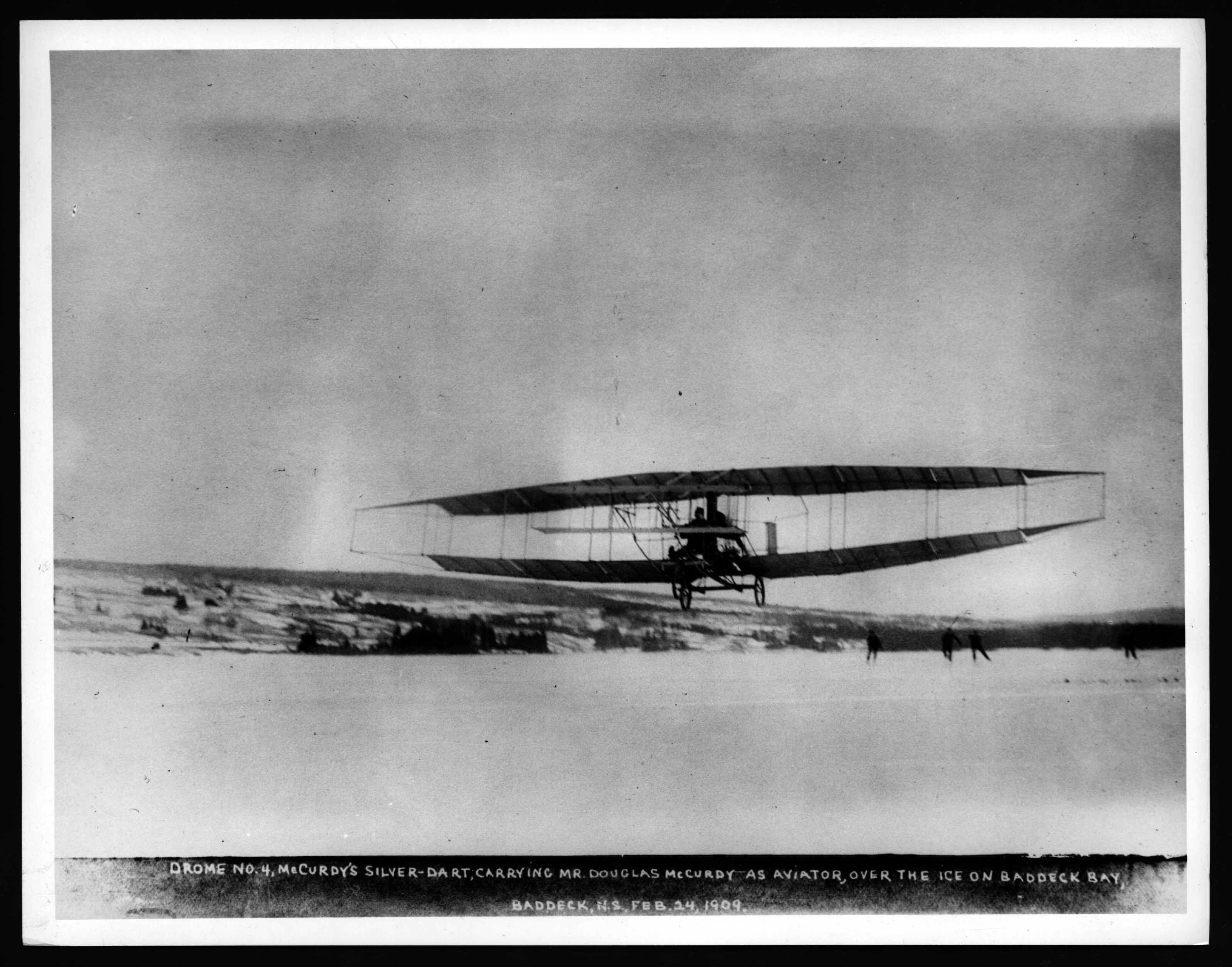 An Environmental History of Canada's First Flight – NiCHE