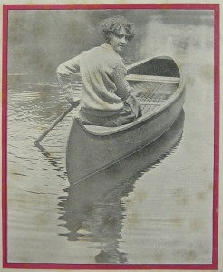 The cover of the August 1929 issue of Camp Life.