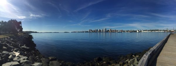 View of Halifax Harbour from Alderney Landing