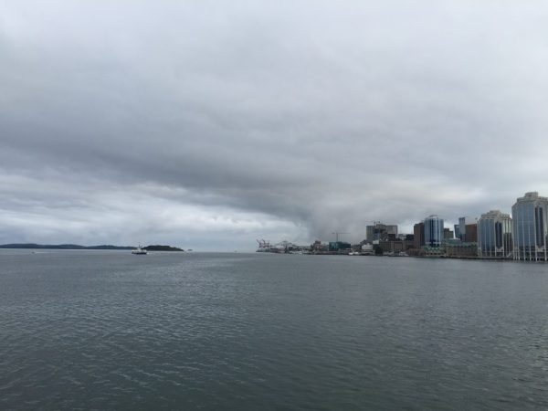 Georges Island, McNab's Island, Halifax Harbour - and maritime weather