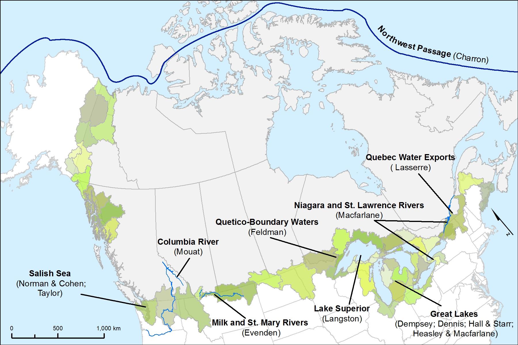 Introducing \u201cborder Flows\u201d Niche: Map Of Ontario Us Border At Usa Maps