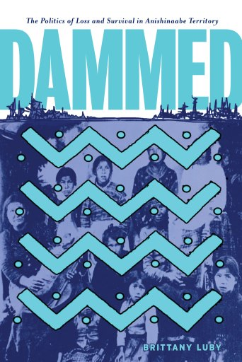 Image of Book Cover. Dammed, The Politics of Loss and Survival in Anishinaabe Territory