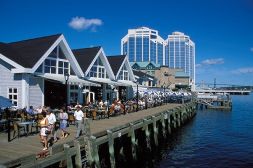 Halifax Waterfront By Foot, Ferry & Segway -